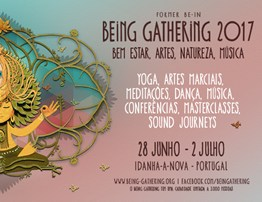 Cartaz Being Gathering